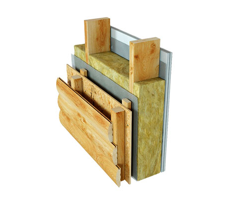 Схема деревянного каркаса второго этажа.