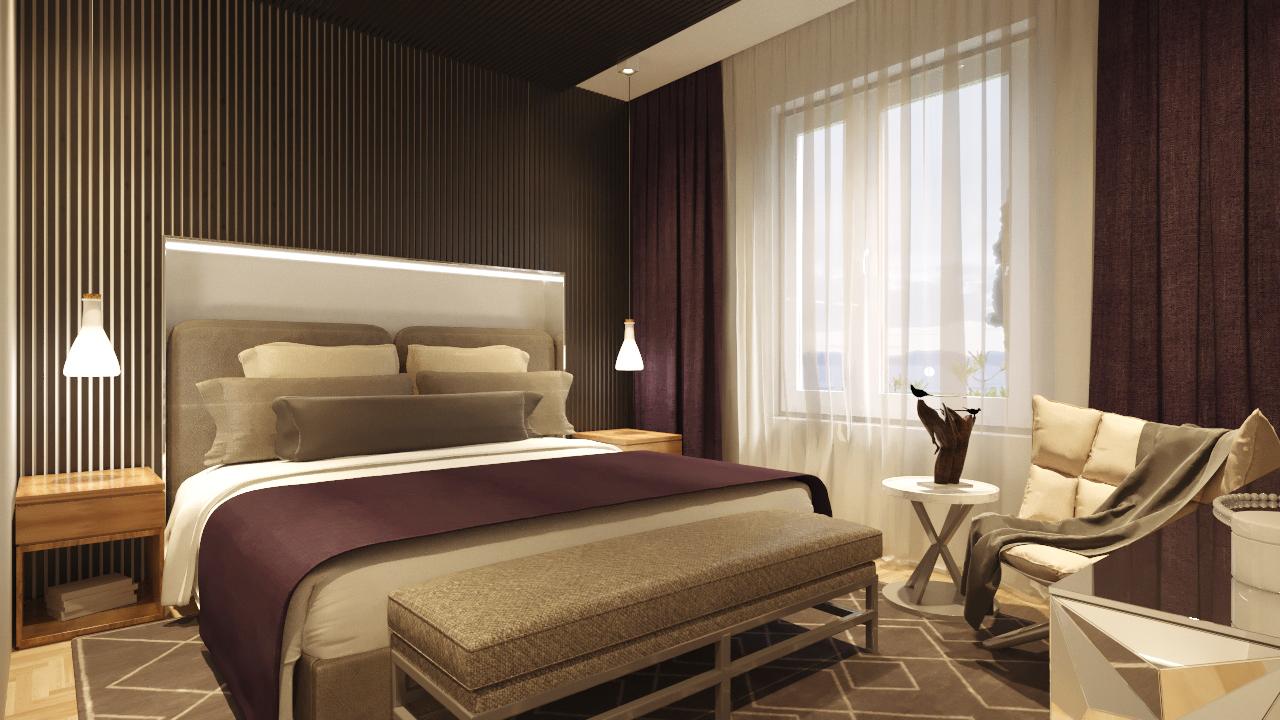 Спальня 4 вид
