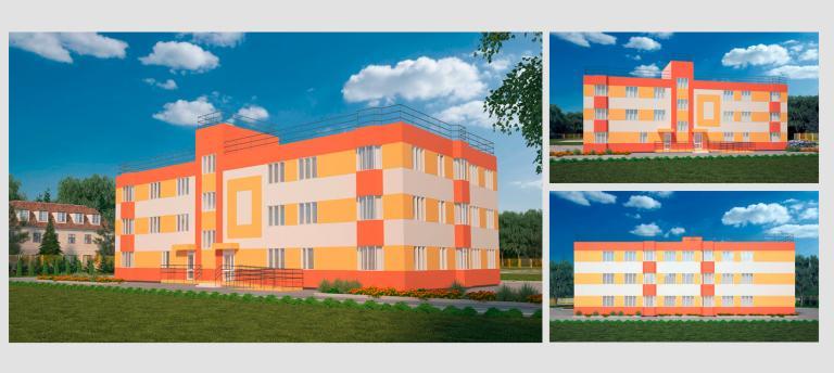 Малоэтажный дом. Проект МС-1357