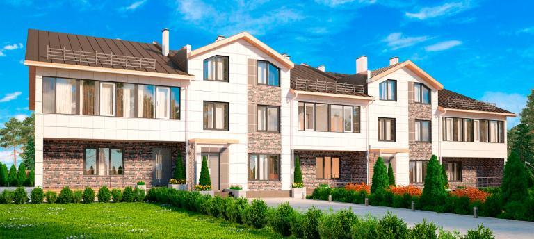 Малоэтажный дом. Проект МС-1393