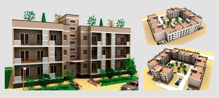 Малоэтажный дом. Проект МС-458