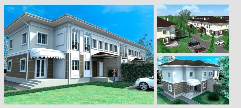 Малоэтажный дом. Проект МС-855
