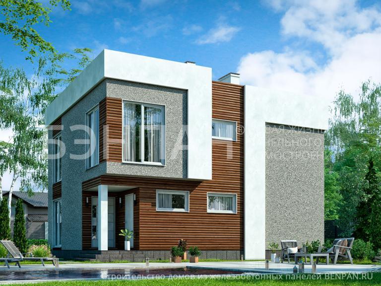 Проект дома БП-133