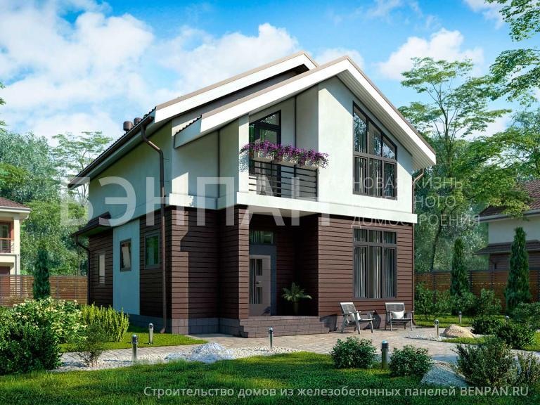 Проект дома БП-154