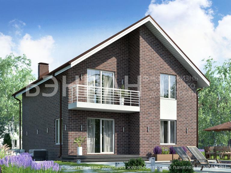 Проект дома БП-161