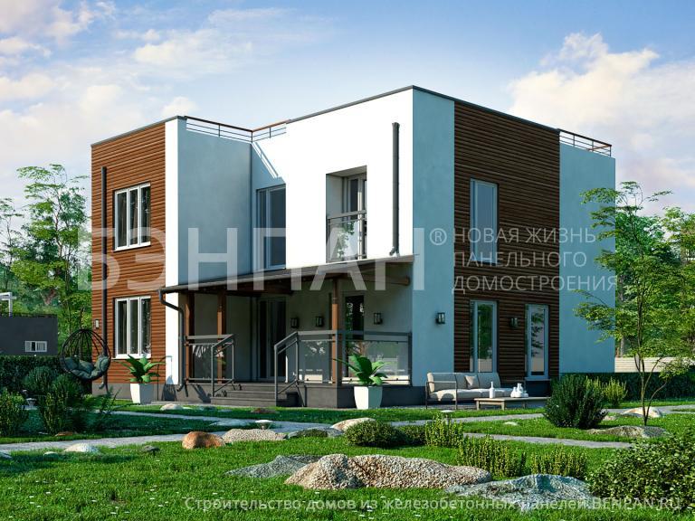 Проект дома БП-163