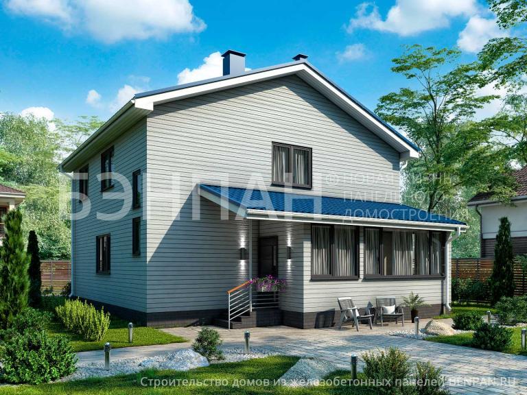 Проект дома БП-184