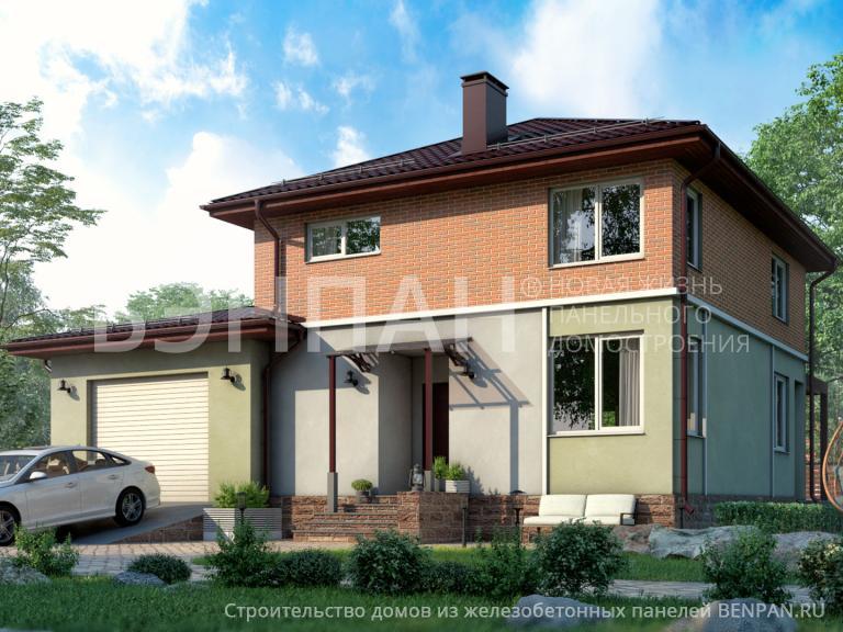 Проект дома БП-185