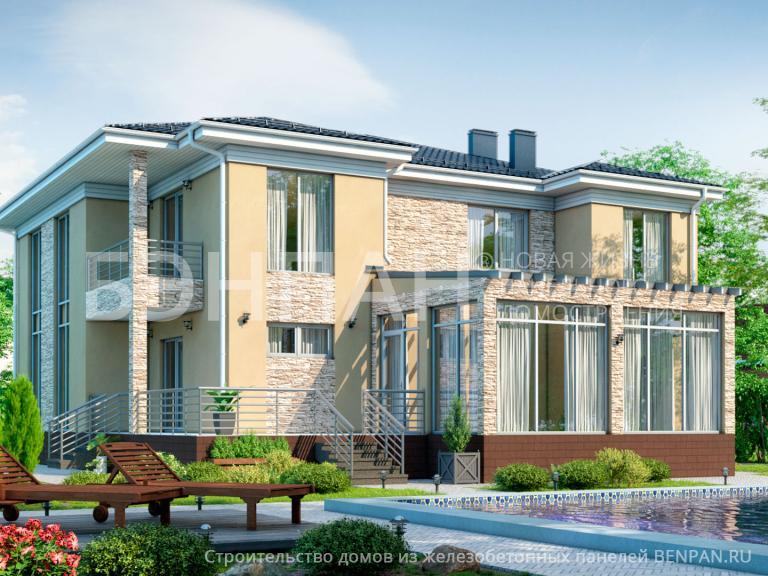 Проект дома БП-338