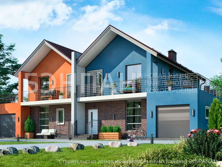 Проект дома БП-391