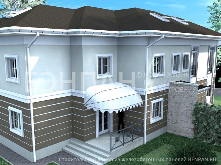 Проект дома Дуплекс 223