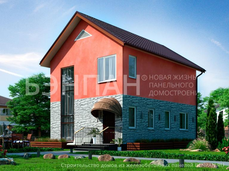 Проект дома МС-107