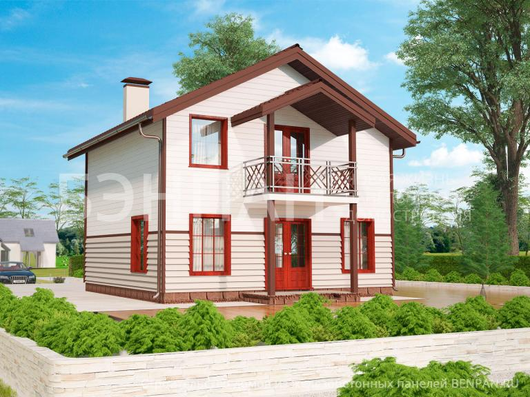 Проект дома МС-108