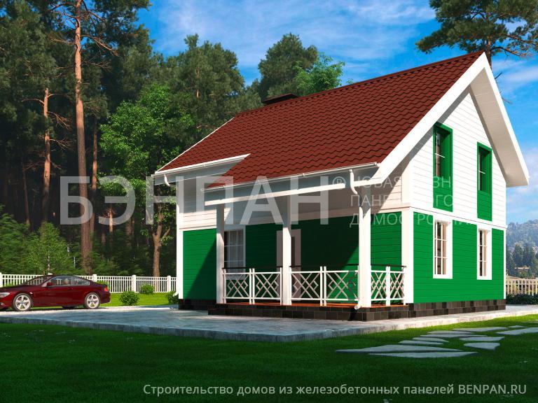 Проект дома МС-117