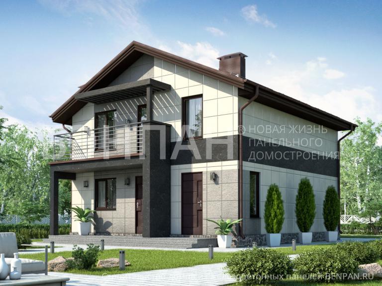 Проект дома МС-126