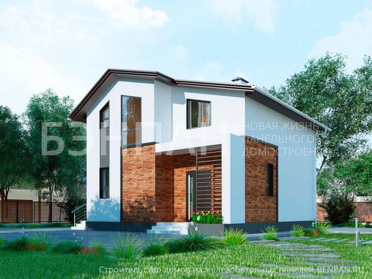 Проект дома МС-146 В