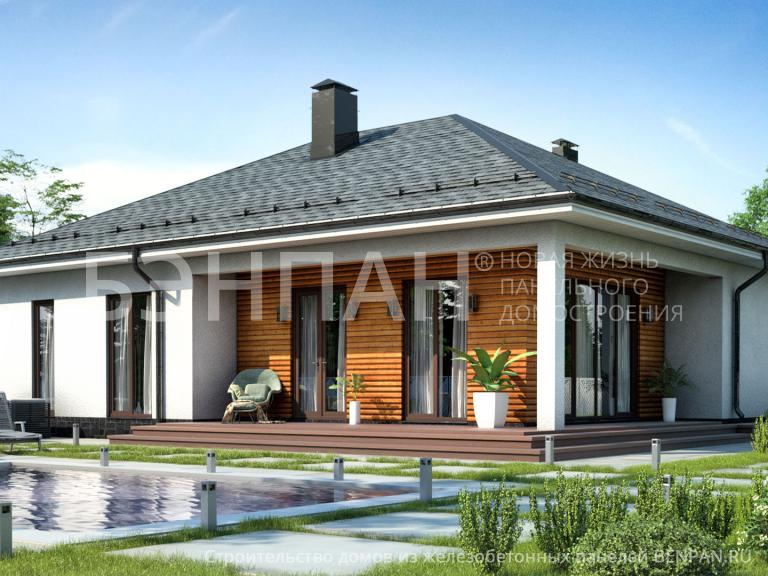 Проект дома МС-148