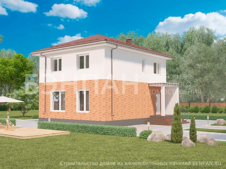 Проект дома МС-155