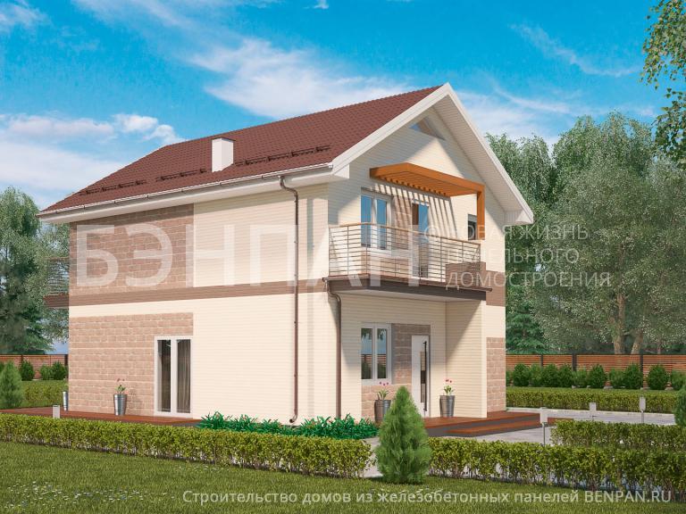 Проект дома МС-181