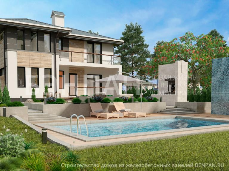 Проект дома МС-186