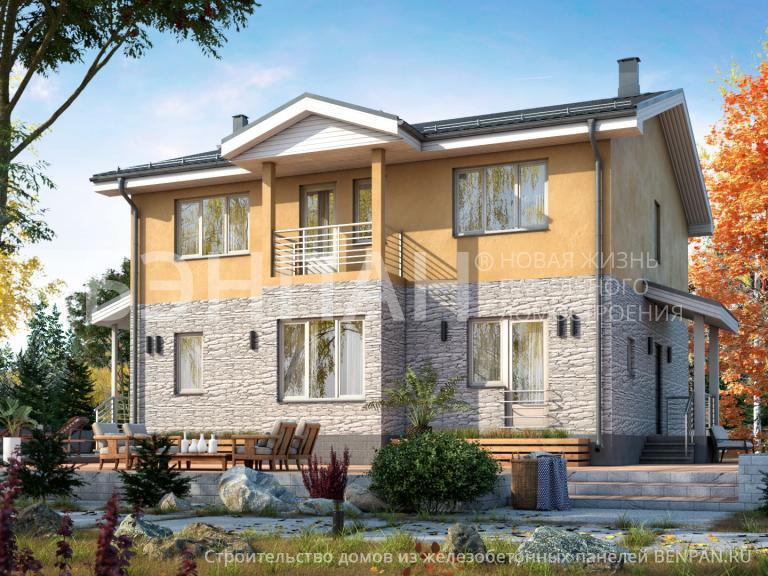 Проект дома МС-187