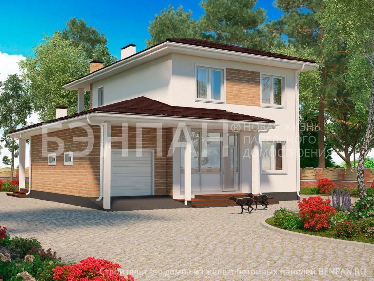 Проект дома МС-191