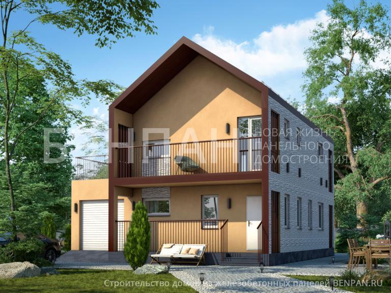 Проект дома МС-195