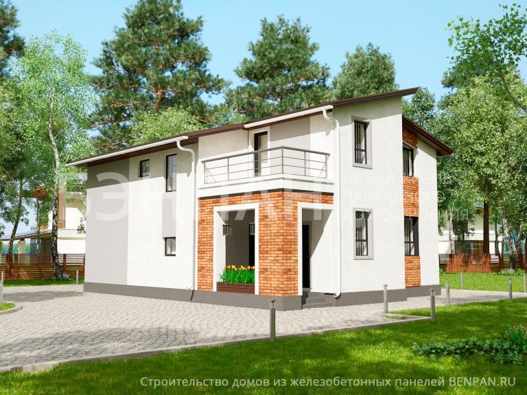 Проект дома МС-202