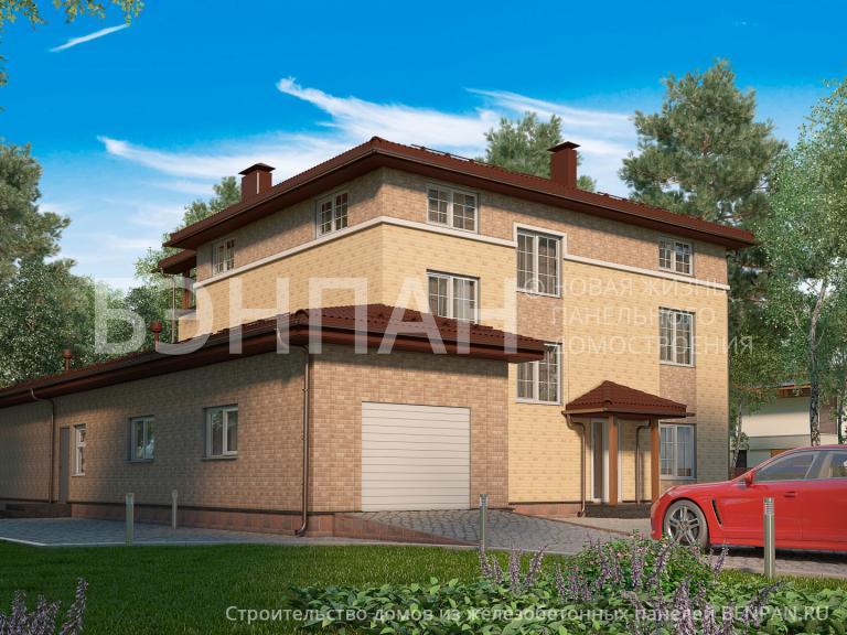 Проект дома МС-606