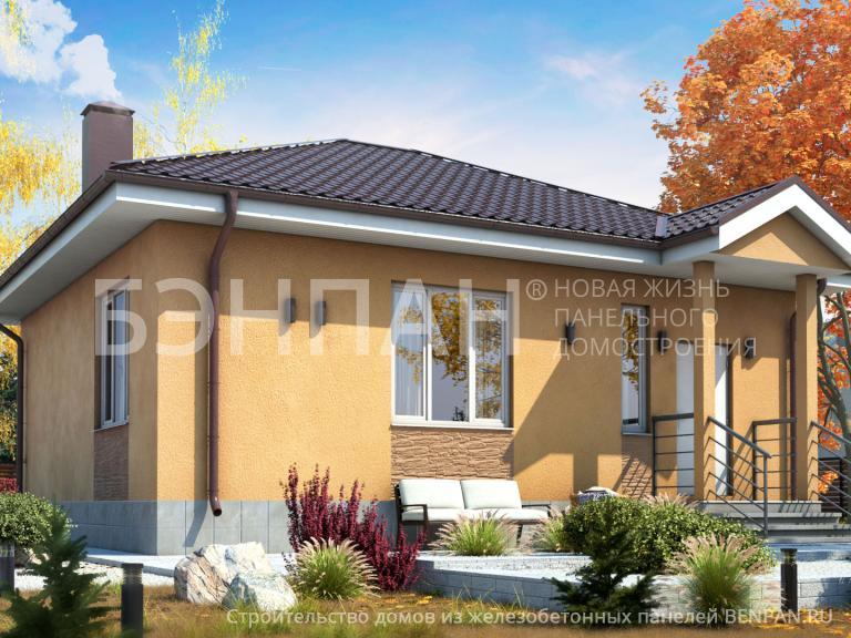 Проект дома Баня МС-64