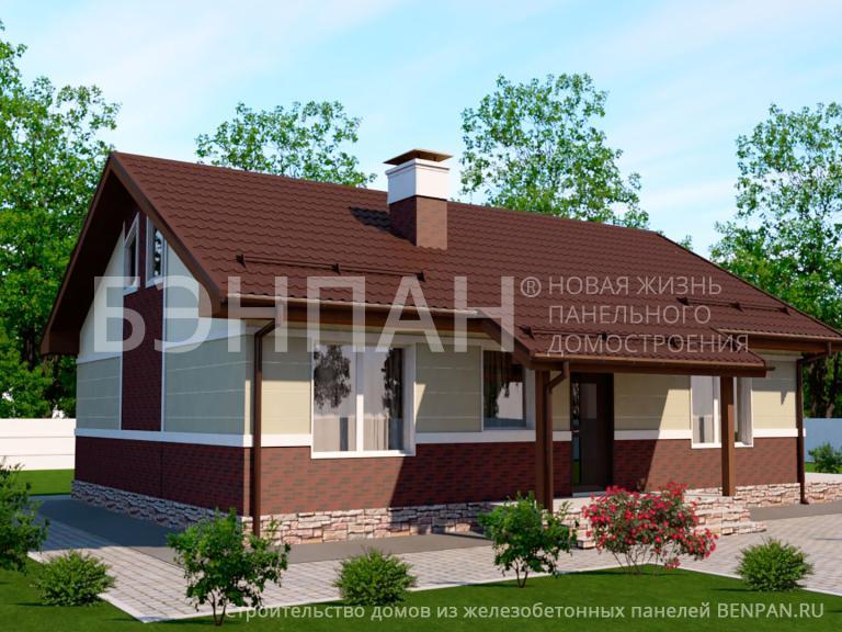 Проект дома МС-77