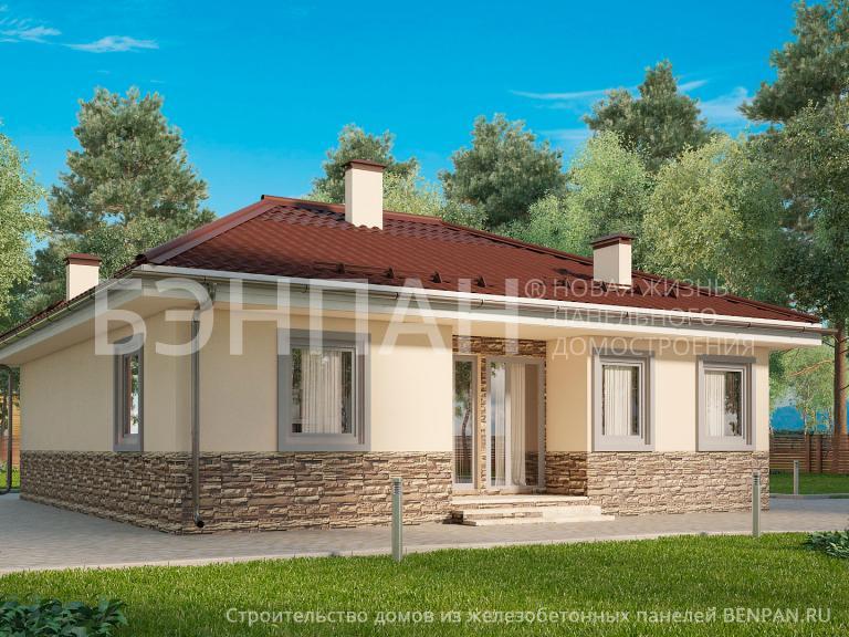 Проект дома МС-98