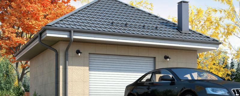 Новый проект гаража