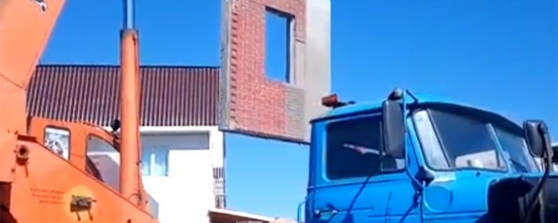 строительство дома из трехслойных панелей БЭНПАН Премиум с отделкой клинкерным кирпичом по проекту МС-146/5