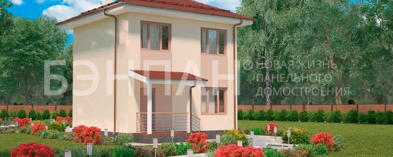 акция на 5 домов МС-69 из жб панелей БЭНПАН Премиум