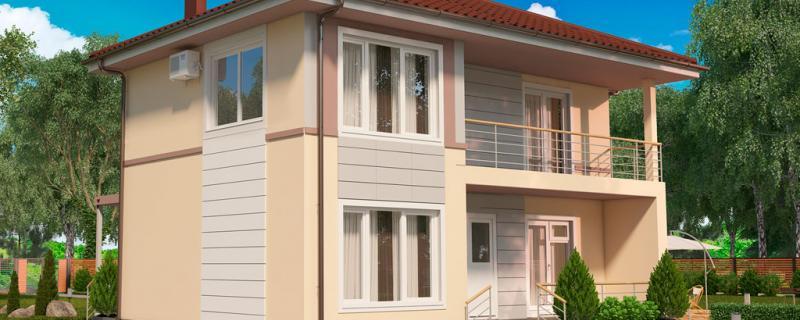 Новости объектов строительства. Строительство дома по проекту МС-186/1