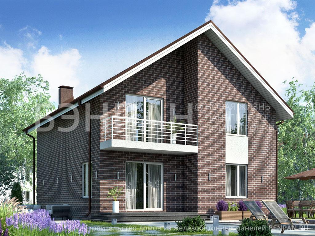 Строительство дома 138.70 м2 по цене от 2739421.05 рублей на март 2019 года