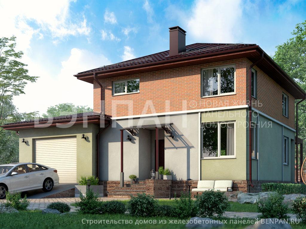 Строительство дома 164.60 м2 по цене от 2832518.84 рублей на март 2019 года