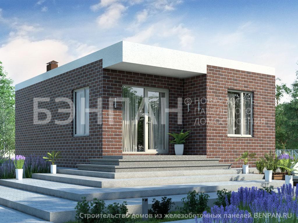 Строительство дома 44.90 м2 по цене от 1905113.177 рублей на январь 2019 года