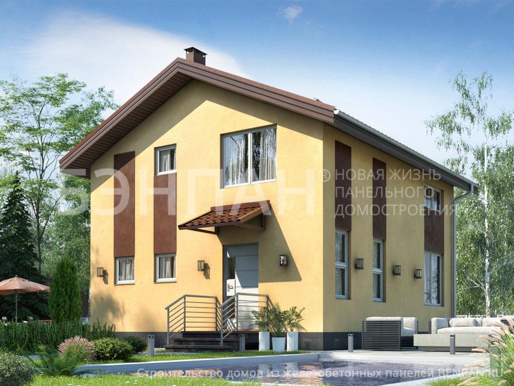 Строительство дома 100.60 м2 по цене от 1992848.473 рублей на январь 2019 года