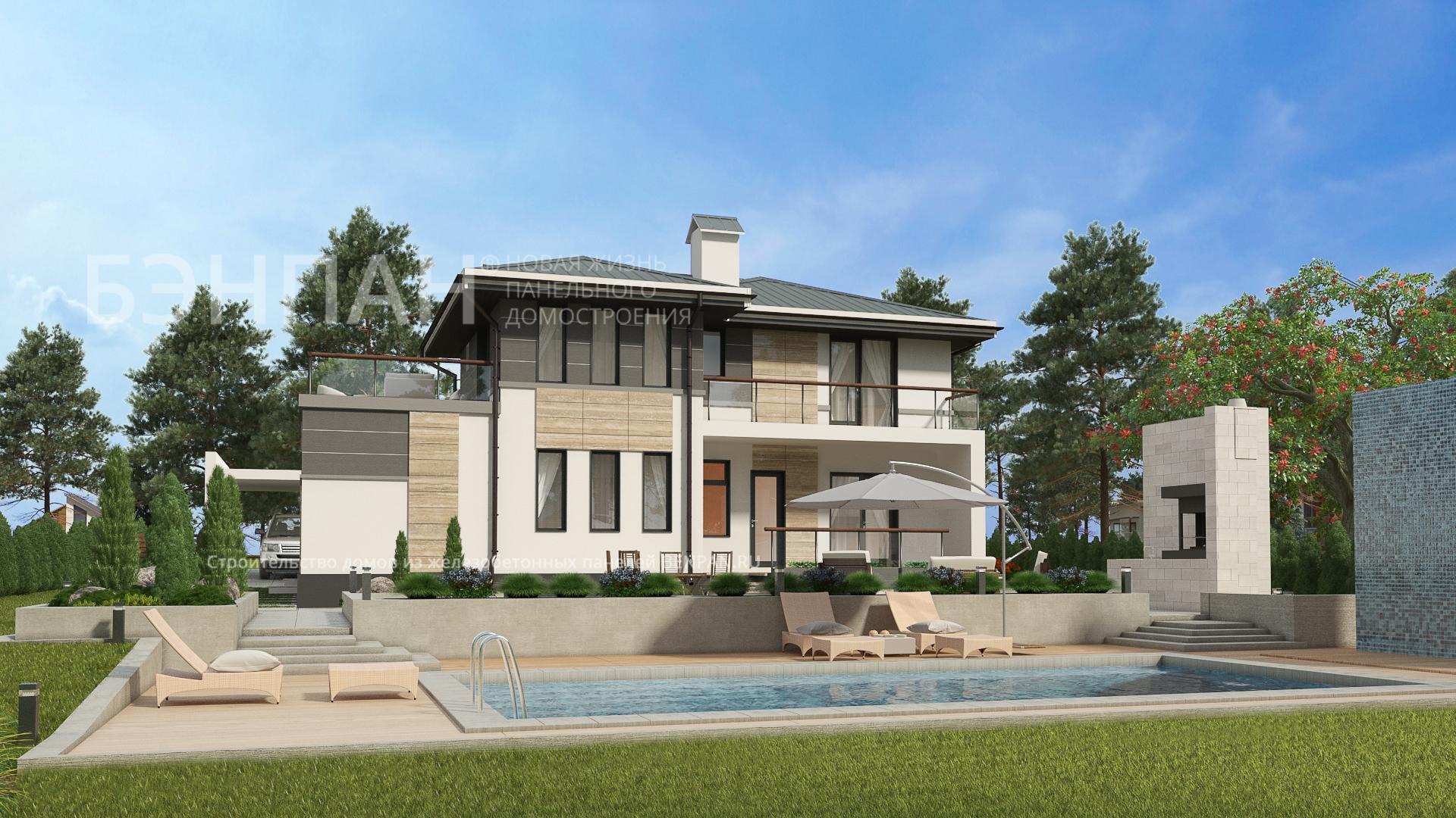 Строительство дома 136.40 м2 по цене от 3513134.119 рублей на январь 2019 года
