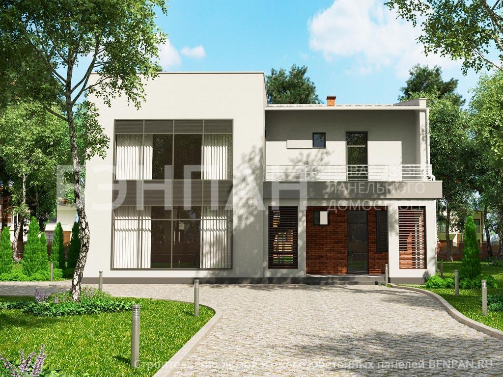 Строительство дома 158.80 м2 по цене от 3917100.49 рублей на июнь 2019 года