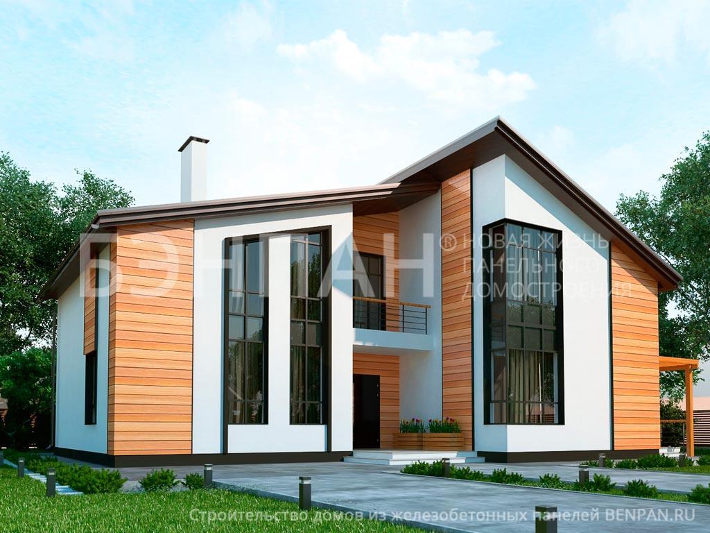 Строительство дома 216.38 м2 по цене от 3694647.76 рублей на февраль 2019 года