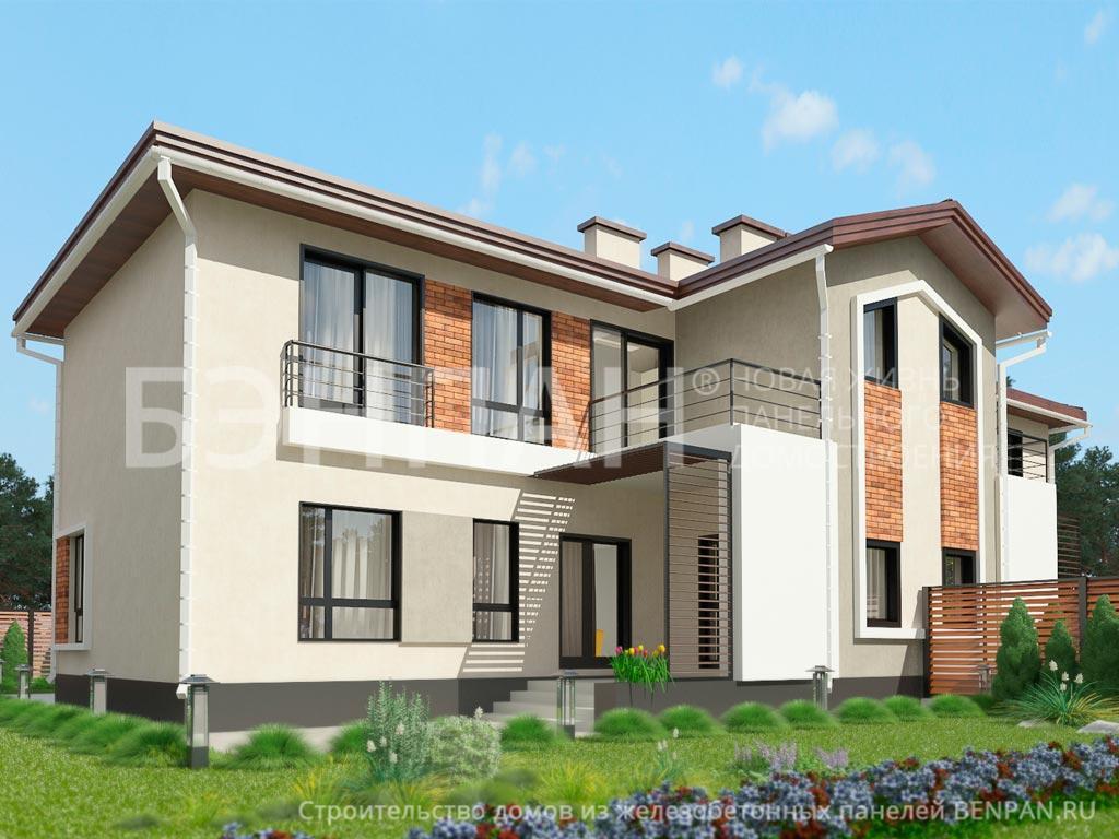 Строительство дома 285.05 м2 по цене от 5050524.26 рублей на август 2019 года