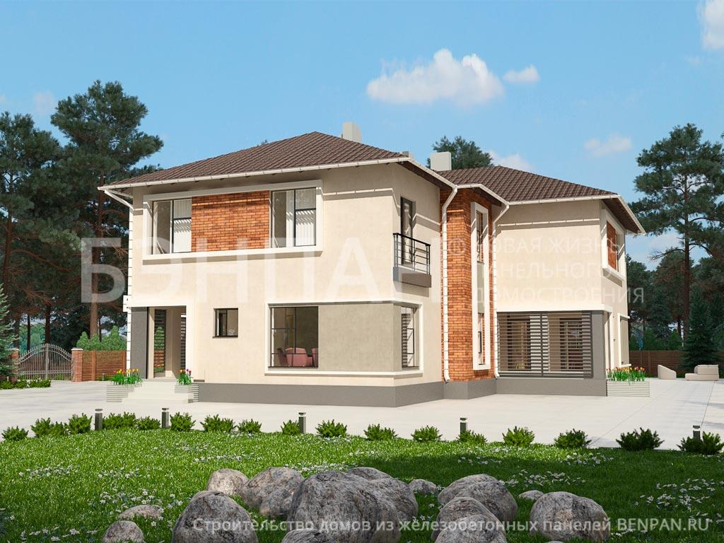 Строительство дома 362.10 м2 по цене от 5972388.61 рублей на февраль 2019 года
