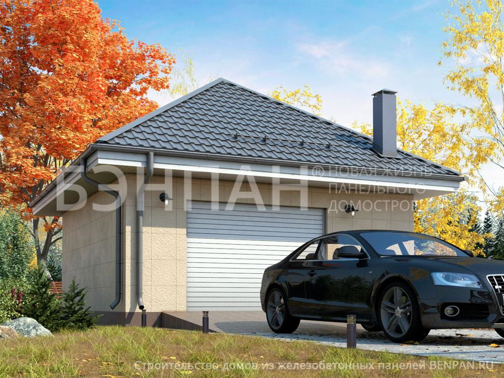 Строительство дома 37.00 м2 по цене от 825387.27 рублей на июнь 2019 года