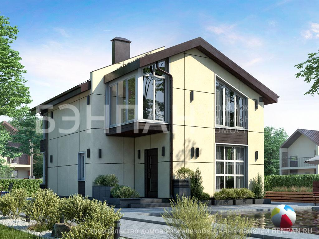 Строительство дома 113.15 м2 по цене от 2348726.292 рублей на январь 2019 года