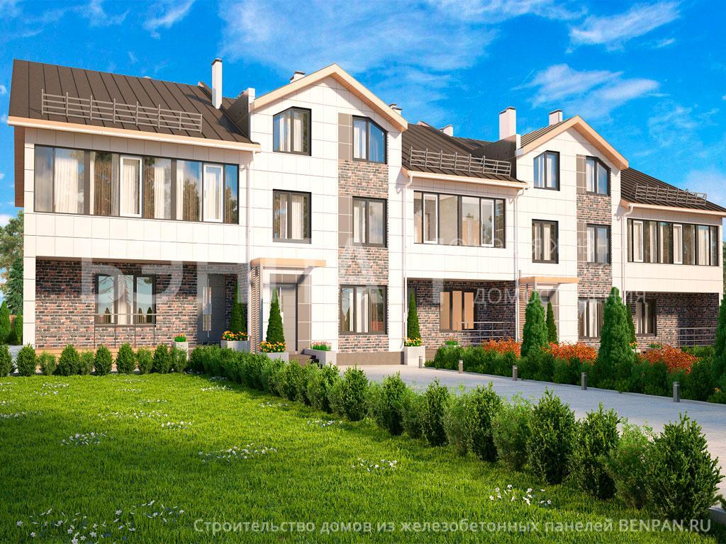 Строительство дома 1110.00 м2 по цене от 11512796 рублей на июнь 2019 года