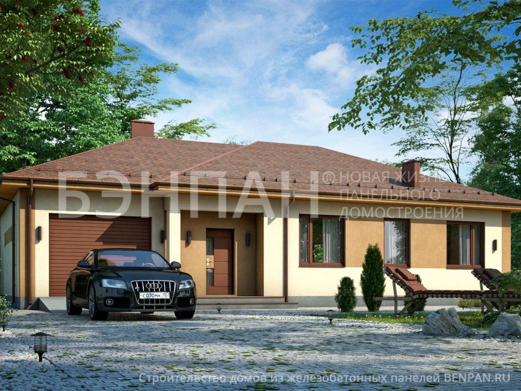 Строительство дома 137.40 м2 по цене от 2146450.33 рублей на июнь 2019 года