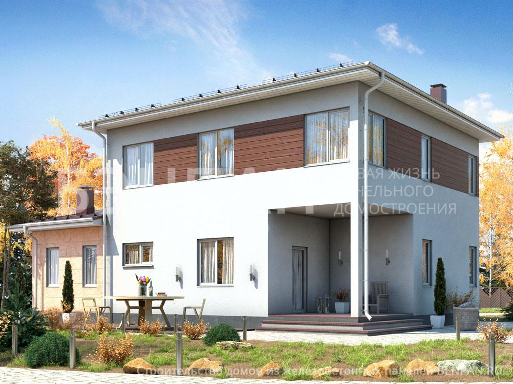 Строительство дома 173.90 м2 по цене от 3281512.3 рублей на июнь 2019 года